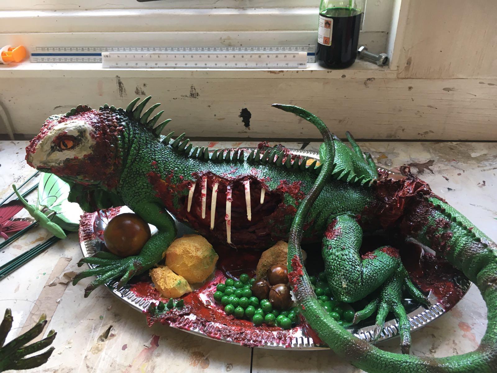 lizard-prop